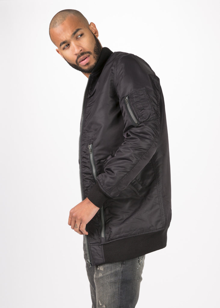 Oversized Winter MA-1 Flight Jacket