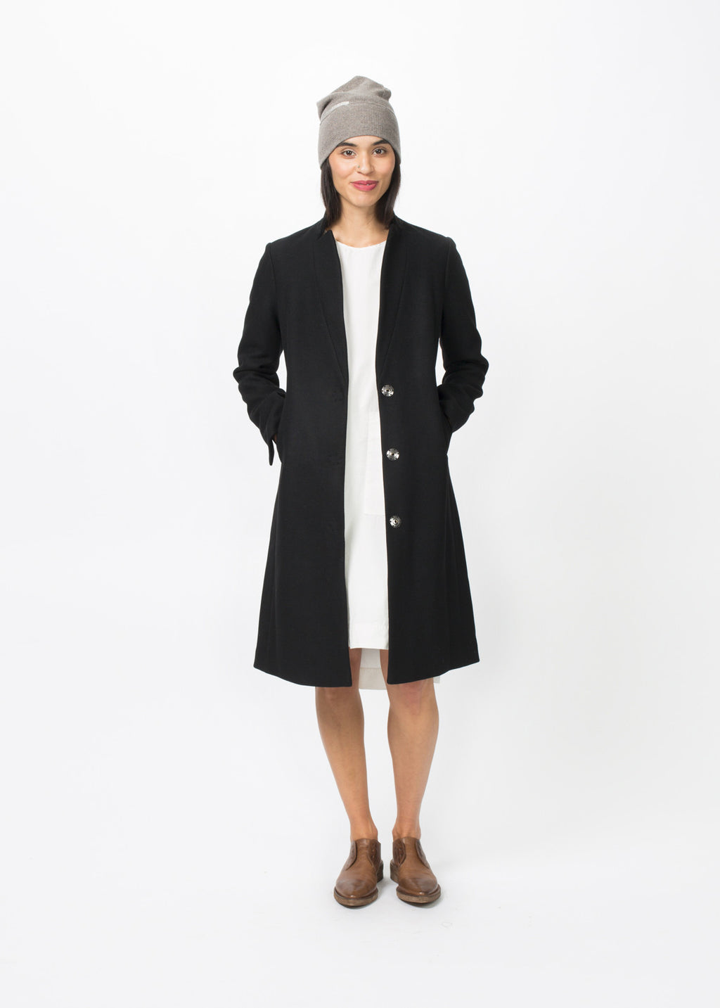 Slim Lapel Coat