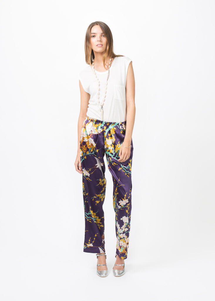 Silk Pajama Trouser