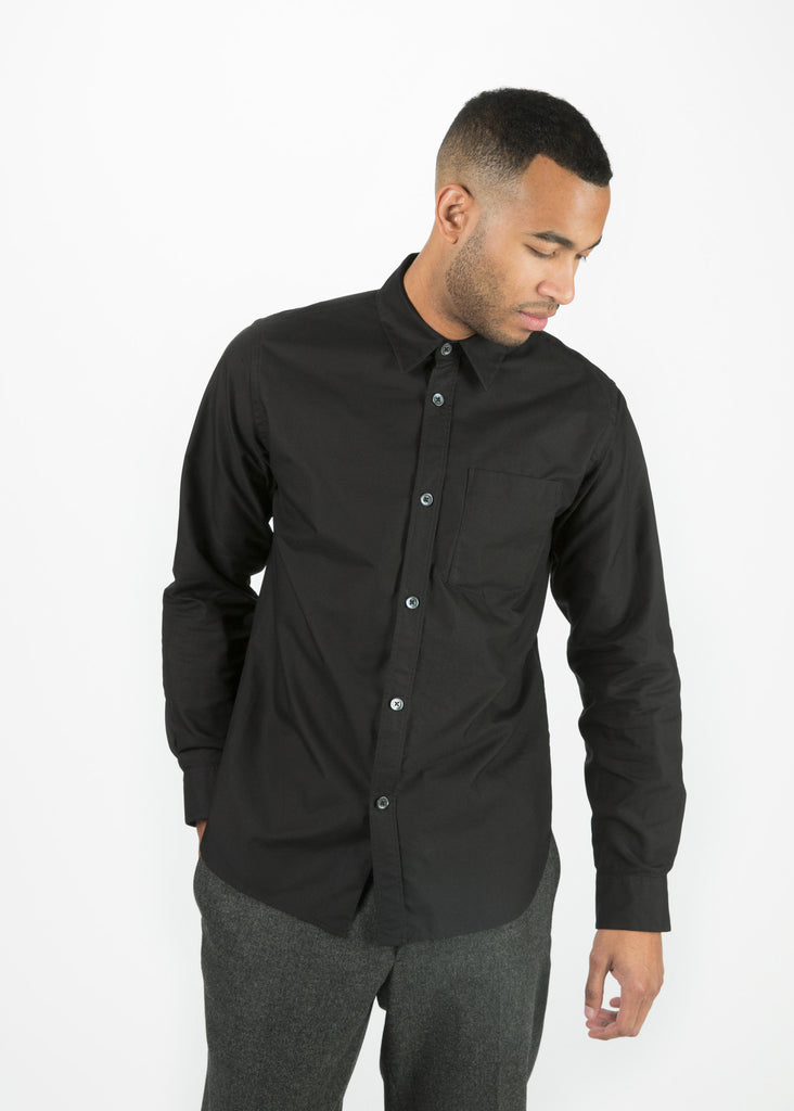 Classic Single Pocket Oxford Shirt