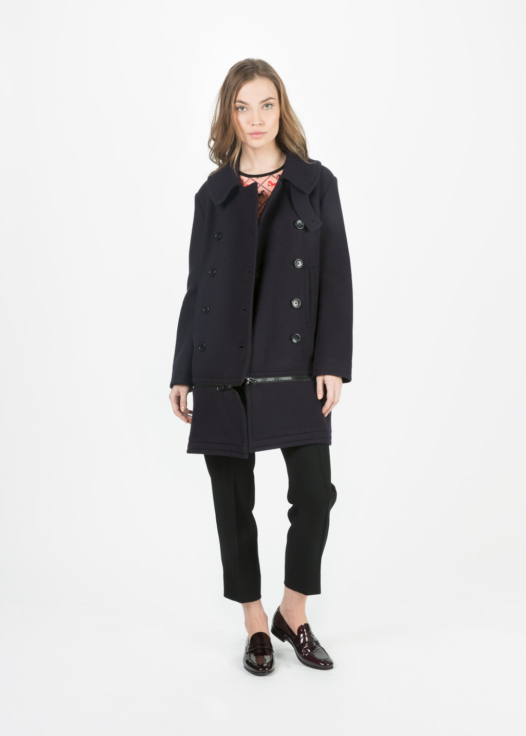 Zip Away Coat
