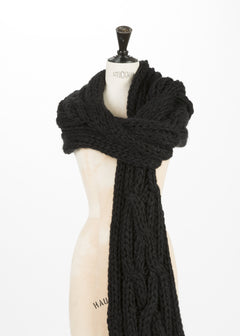 Knit Braid Scarf