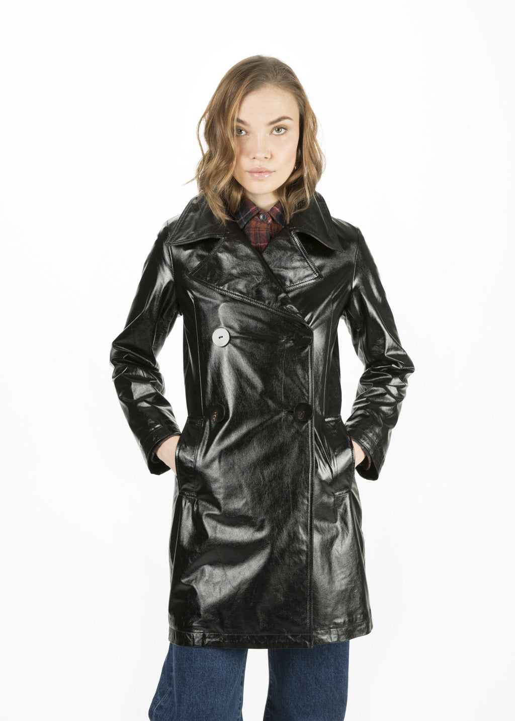 Bowa Leather Coat