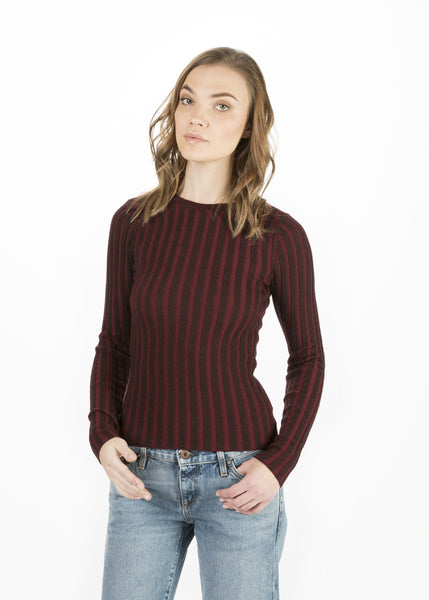 Collis Long Sleeve Rib Tee