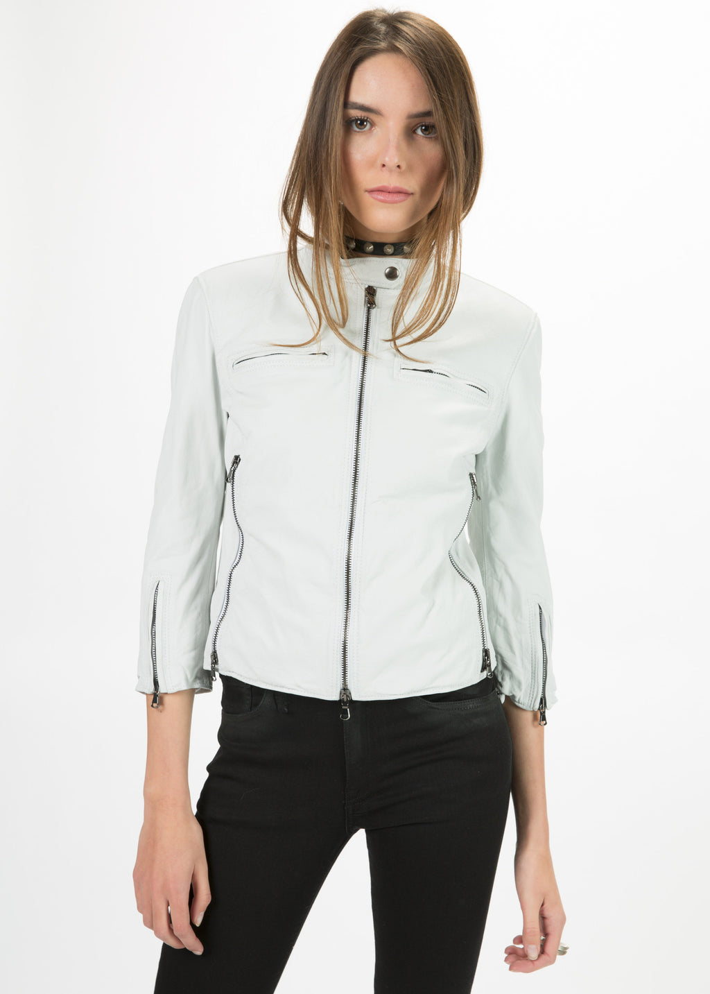 Cafe Racer Cropped Jacket