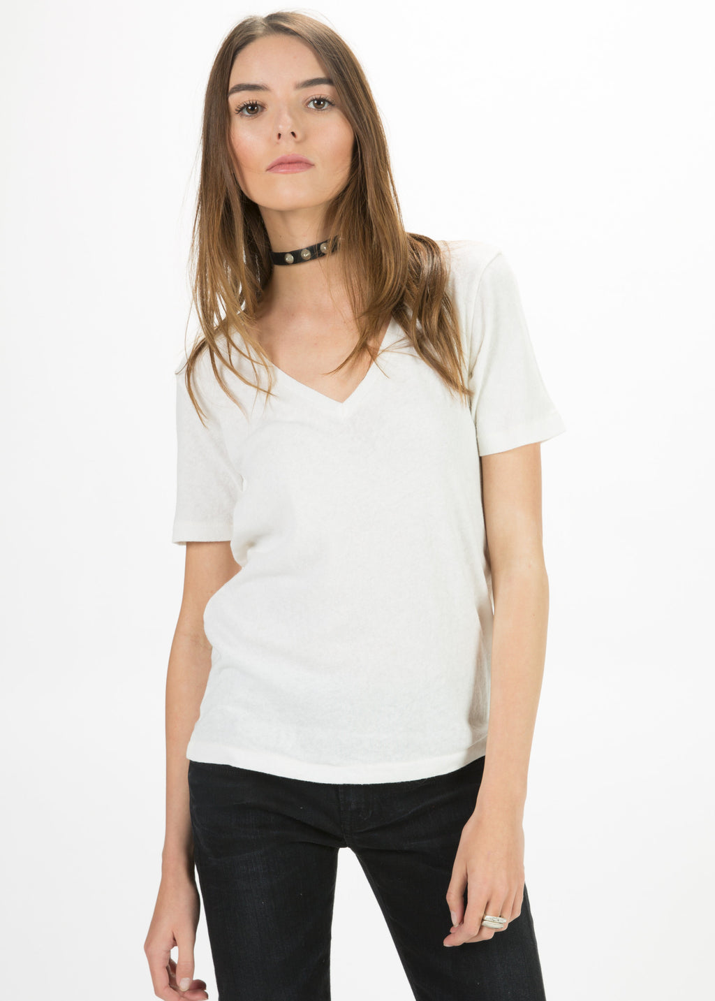 Low V Tee