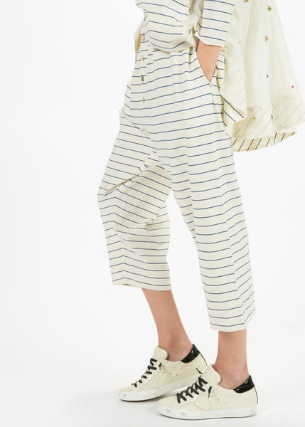 Stripe Cotton Pant