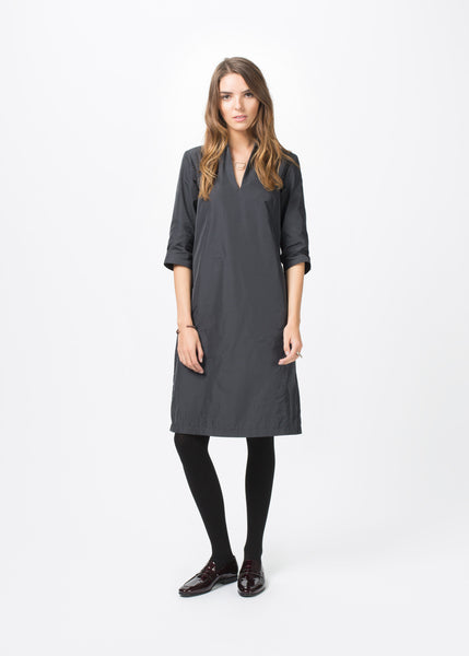 3/4 Sleeve A-Line Dress