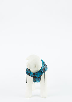 Plaid Anorak Dog Raincoat