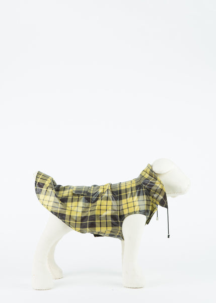 Plaid Anorak Raincoat