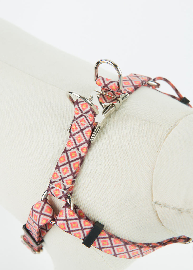 Square Webbing Dog Harness