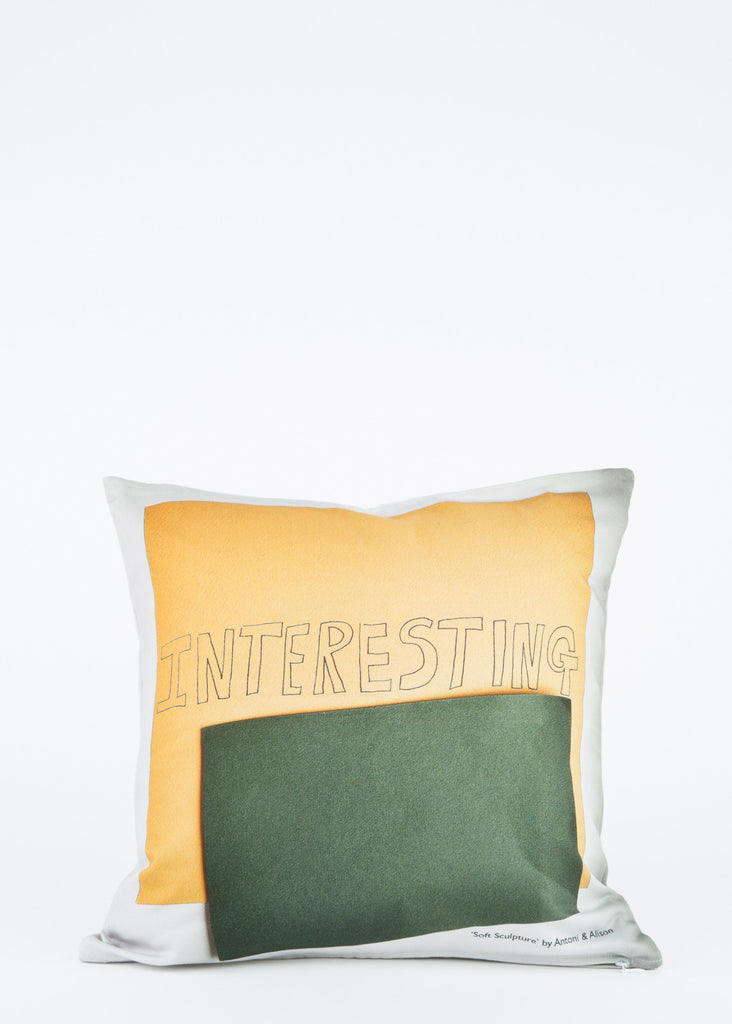 Interesting/Dull Cushion Cover