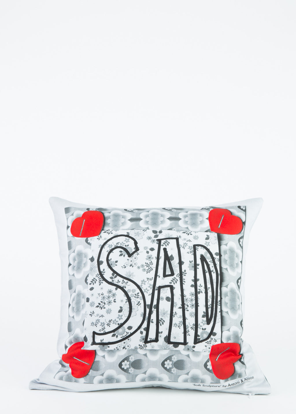 Happy/Sad Cushion Cover