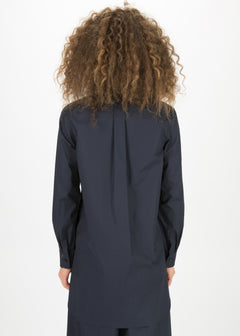 Long Shirt with Hidden Placket