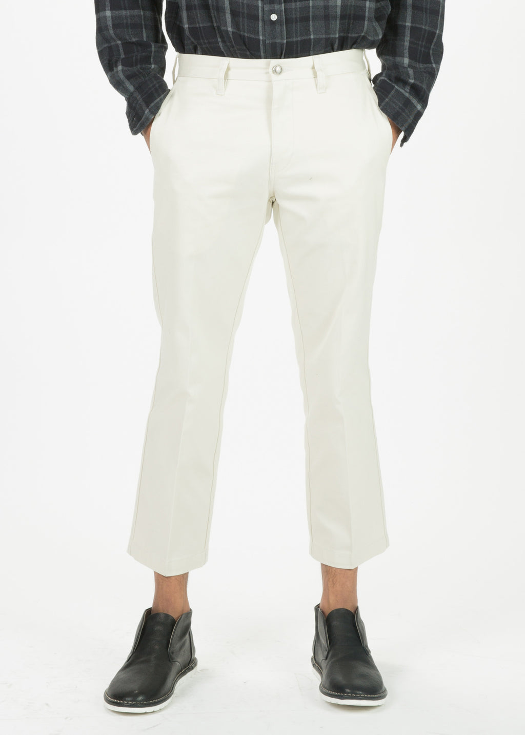 R13 Men's Cropped Chino