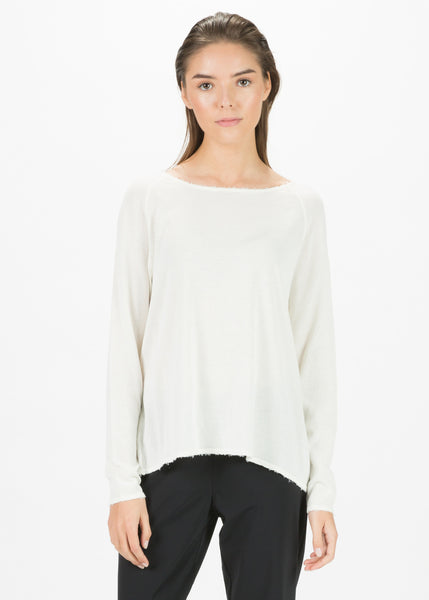 Gate Raw Hem Top