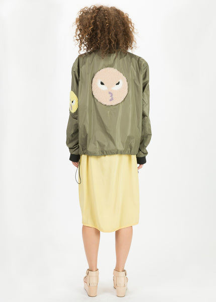 Birch Emoji Bomber Jacket