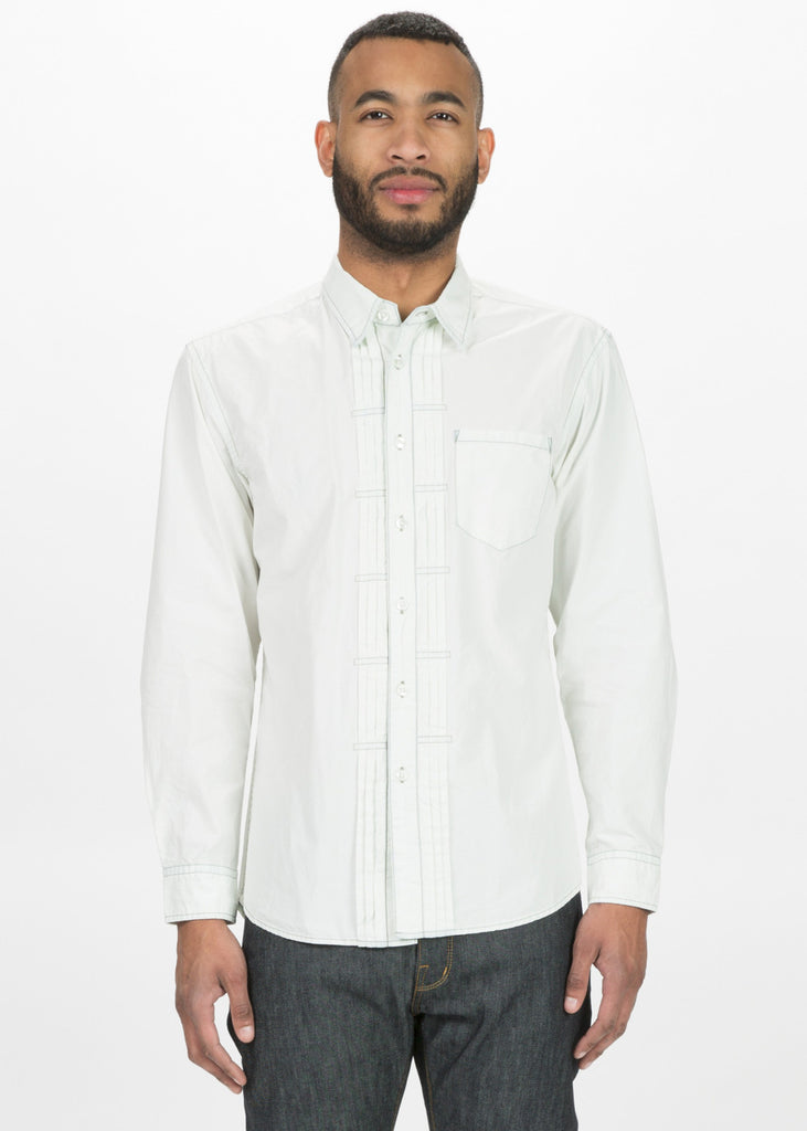 Pleated Placket Shirt