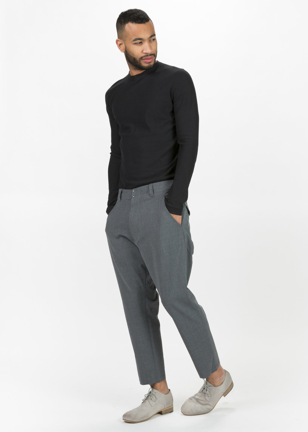 Drop Crotch Dress Pant
