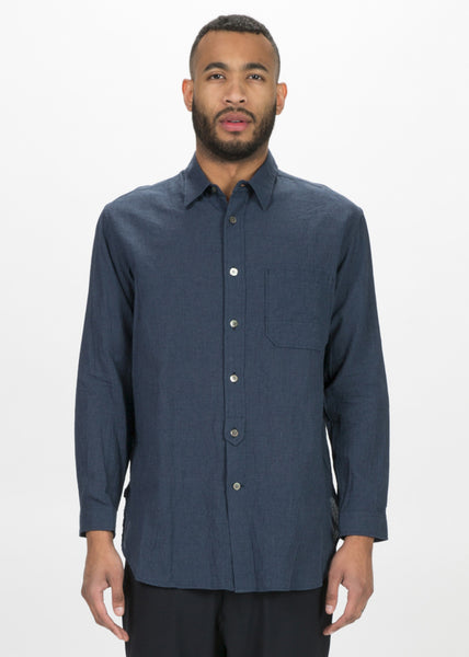Lightweight Cotton Button Up Shirt