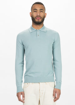 Palm Long Sleeve Polo