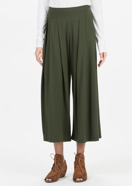 Bubi Pleated Wide Leg Pant