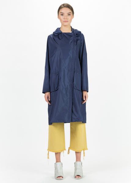 Lightweight Asymmetrical Zip Coat