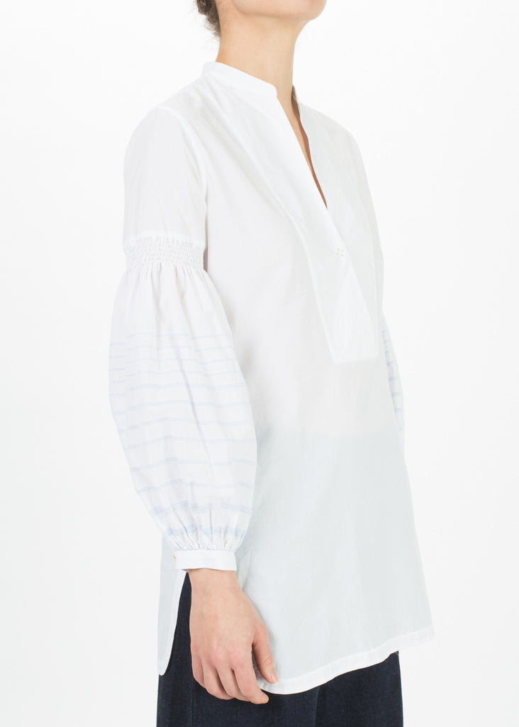 Pillow Sleeve Peasant Top
