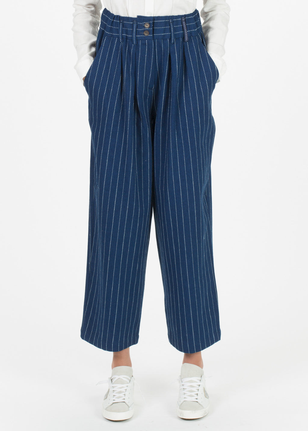 Bingo Pleated Wide Leg Pant