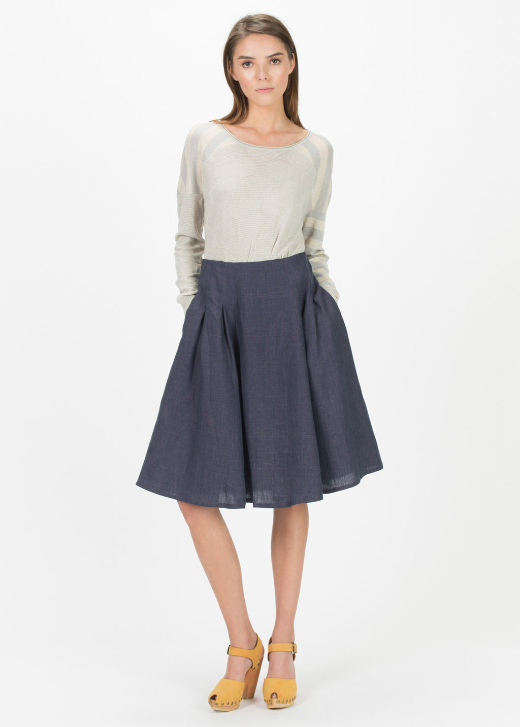 Bambi Pleated Skirt