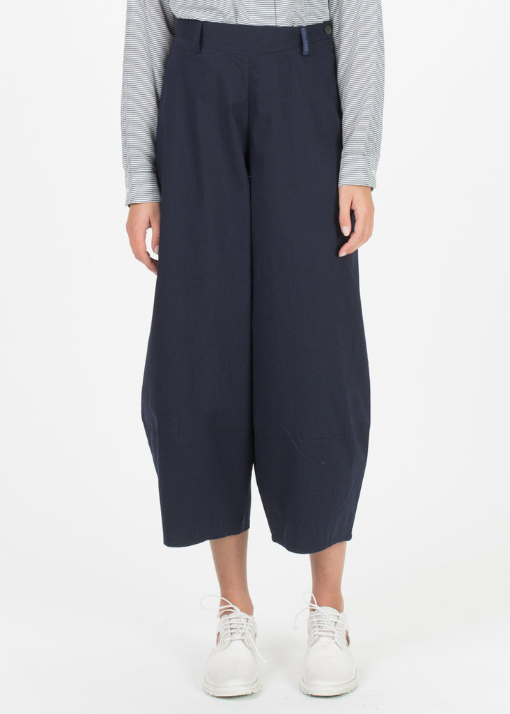 Cotton Primo Wide Leg Trousers