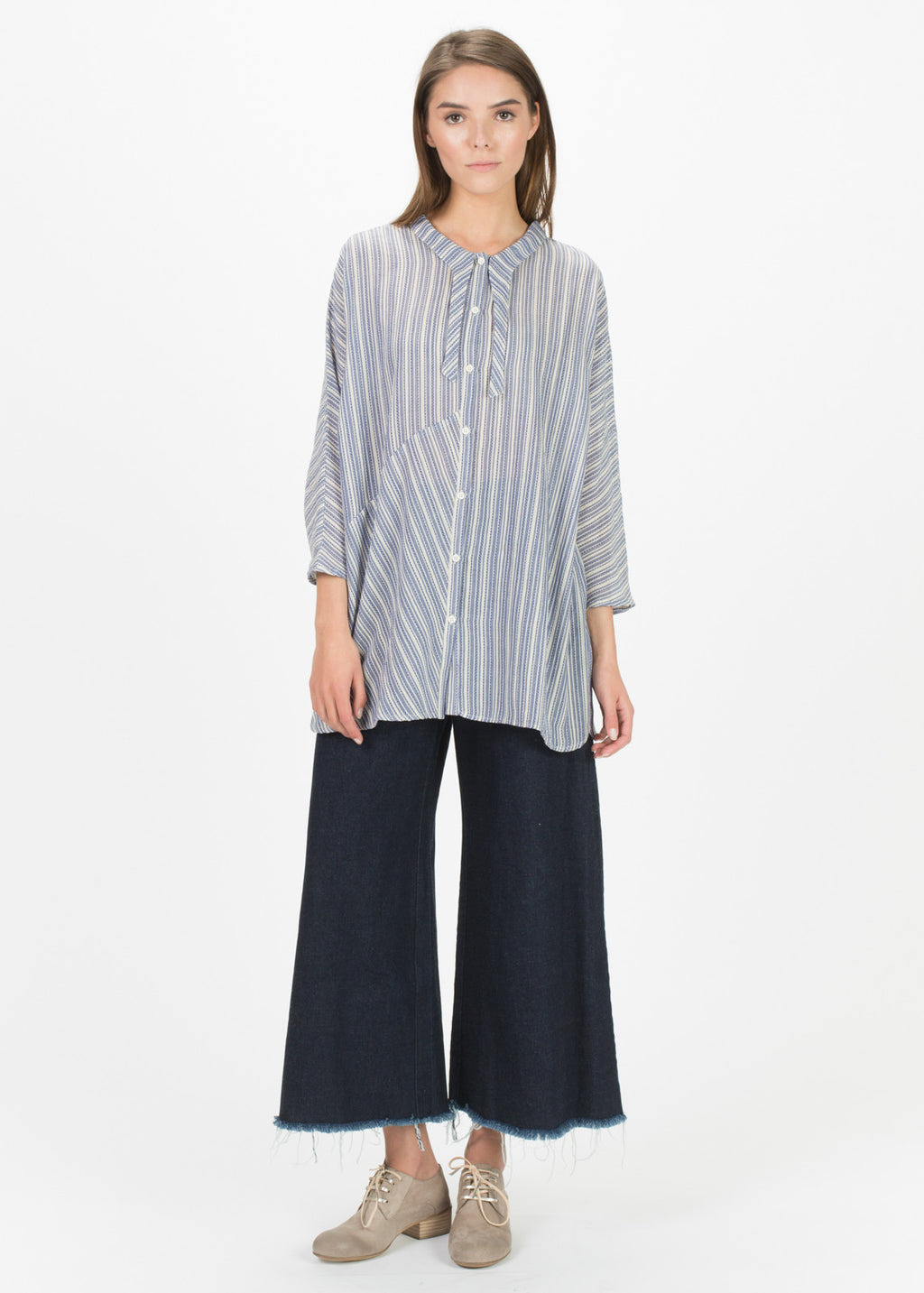 Bouee Swallow Tail Blouse