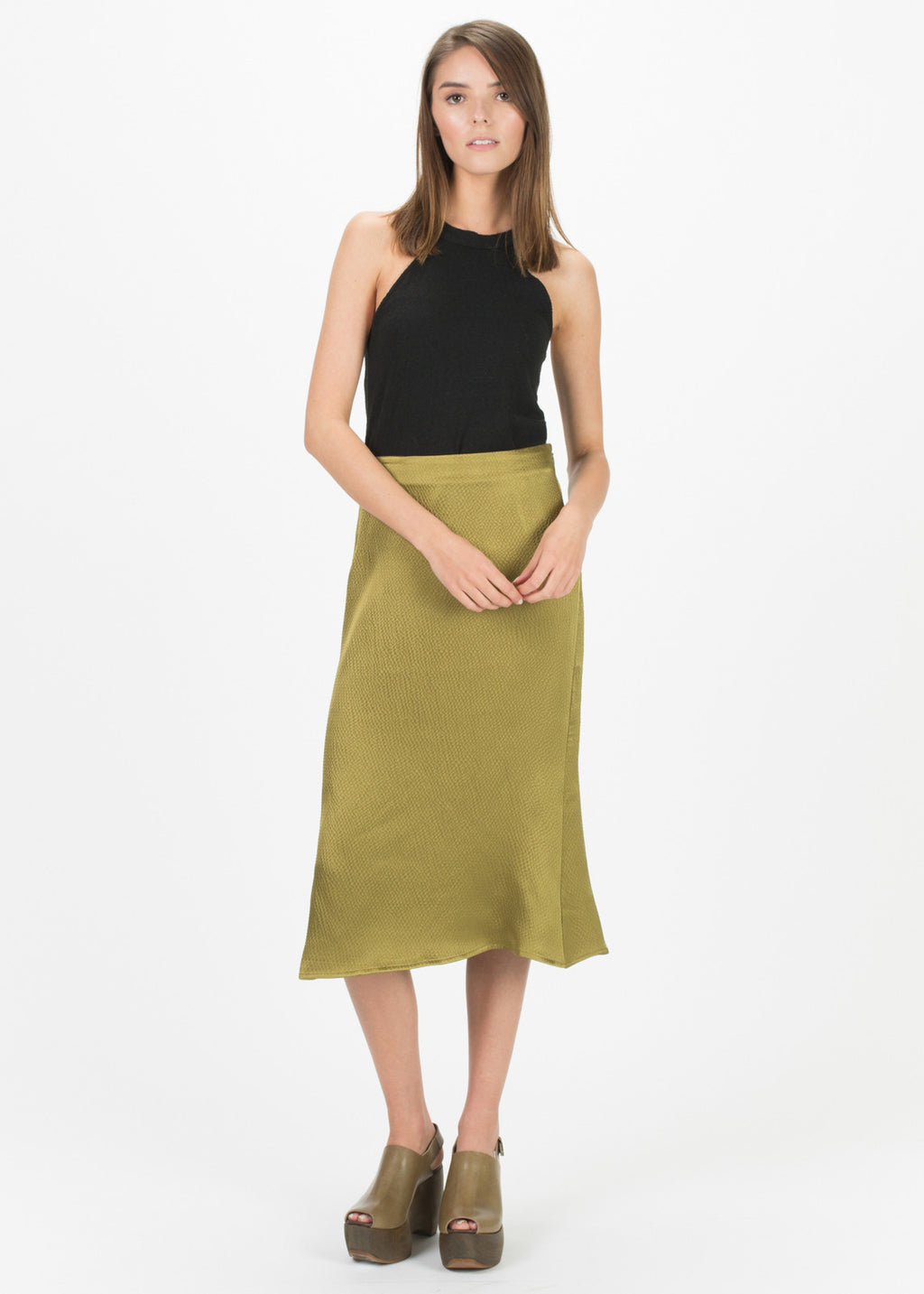 Mayer Silk Skirt