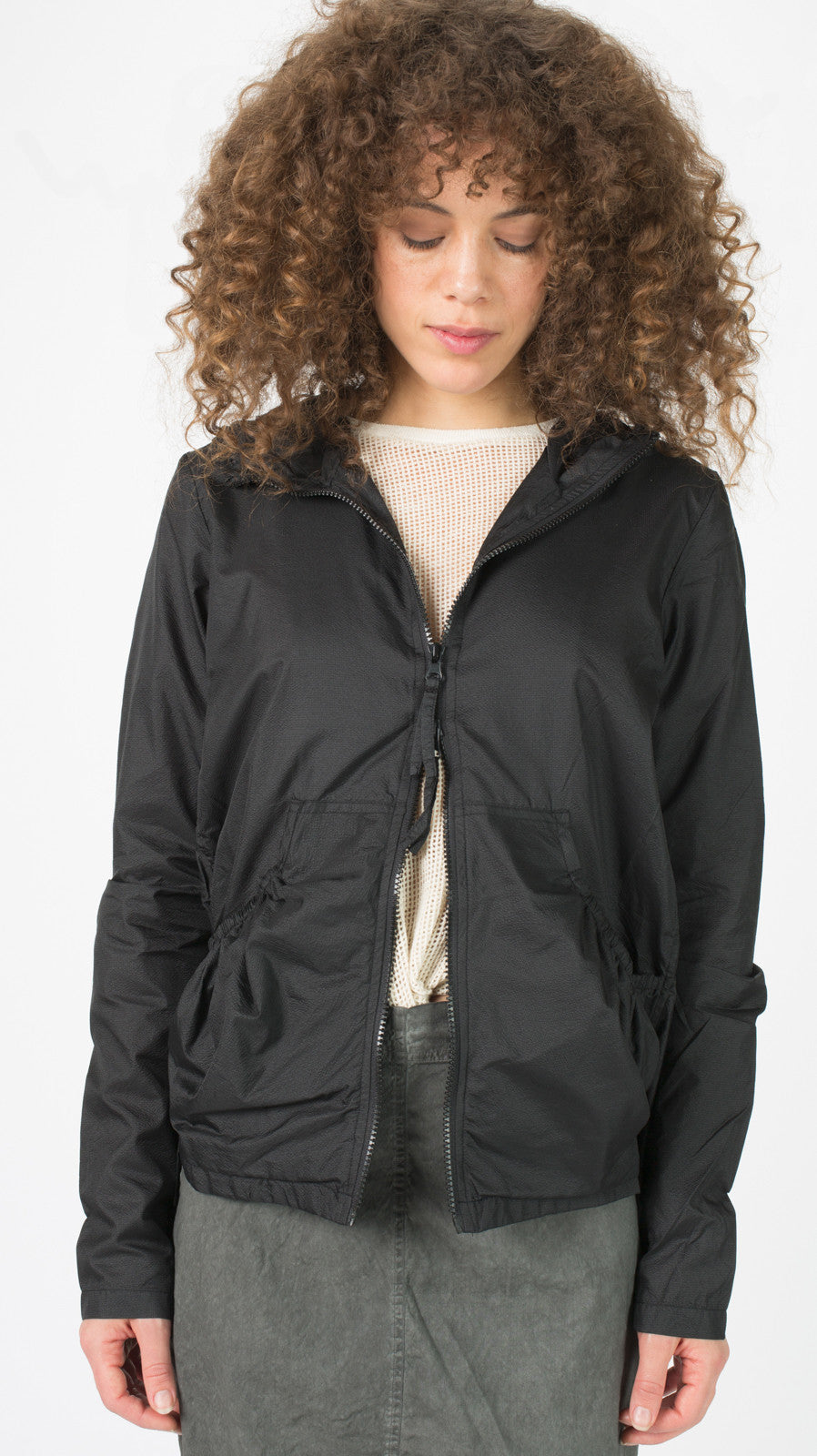 Lightweight Hooded Zip Jacket