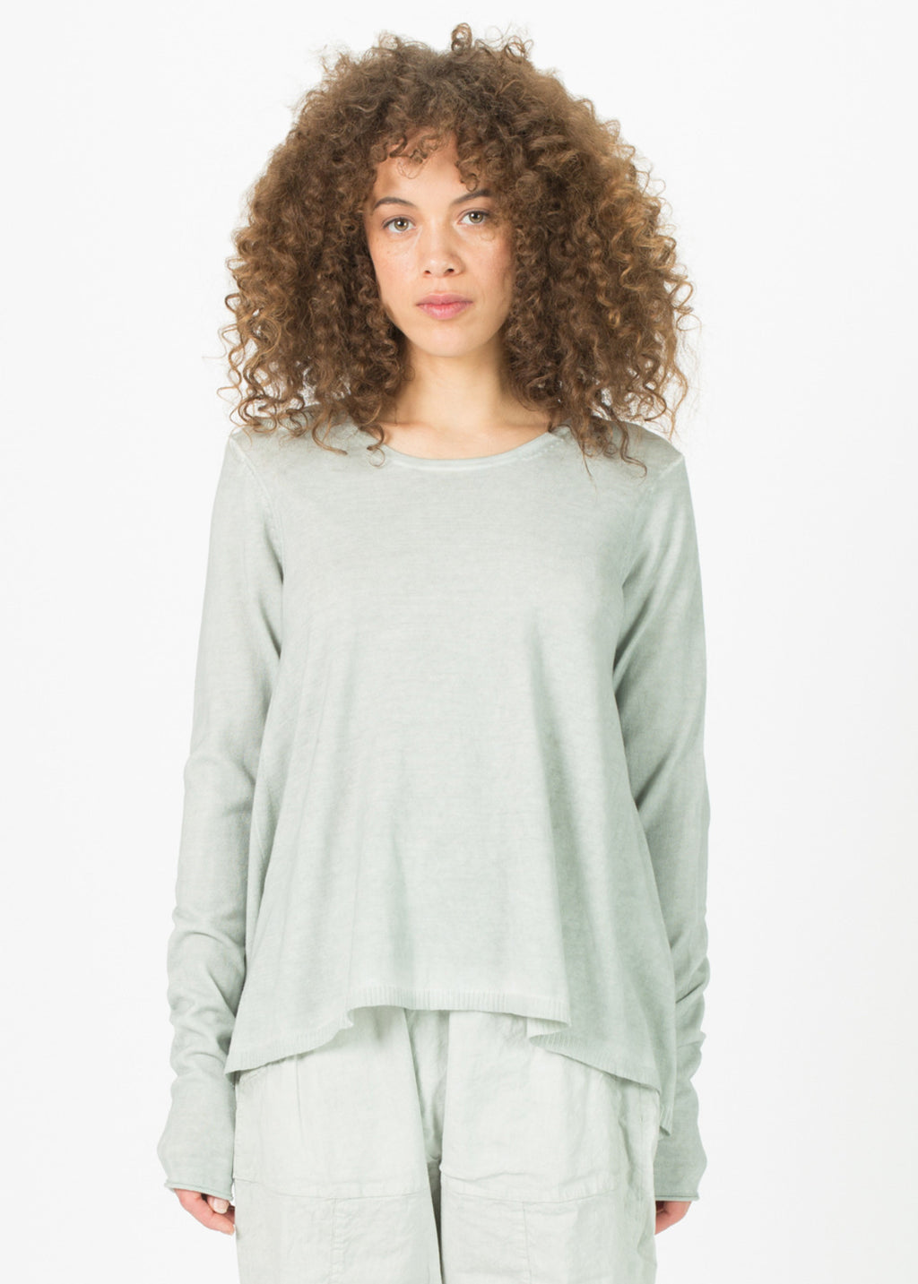 A-Line Cut Out Sweater