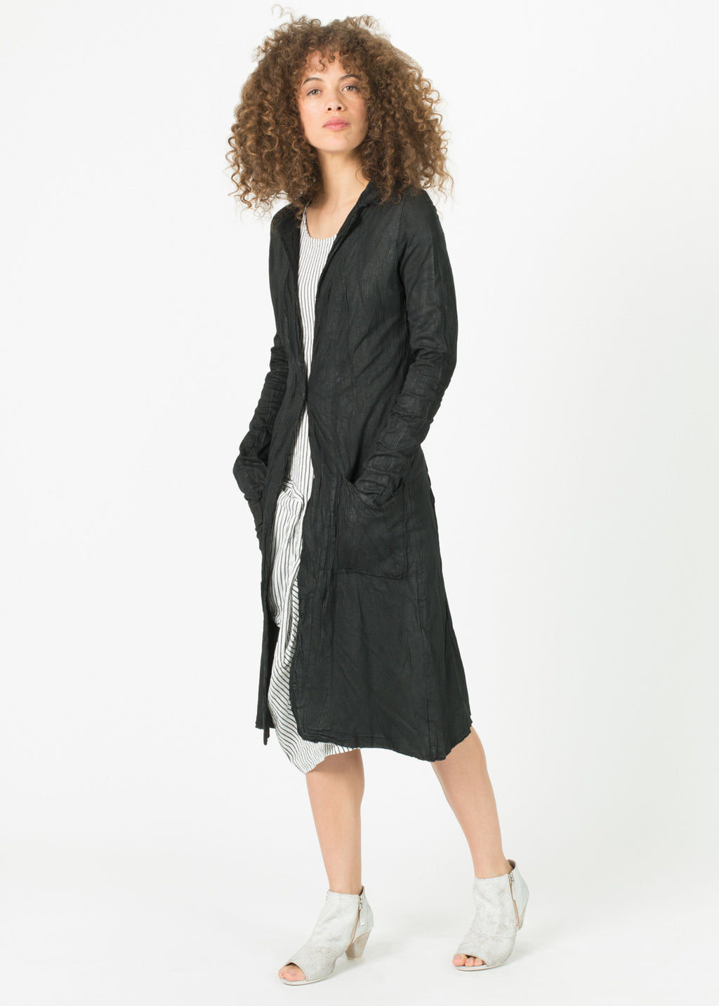 Single Button Apollo Trench