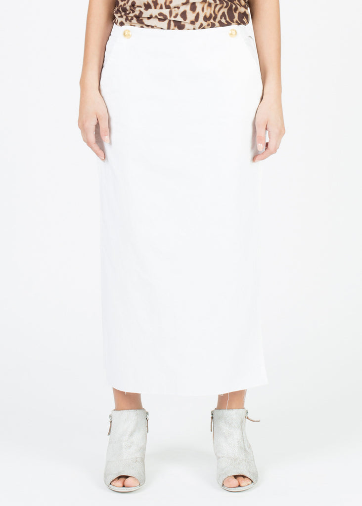 Apron-Front Easy Pant