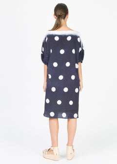 Dot Flower Dress