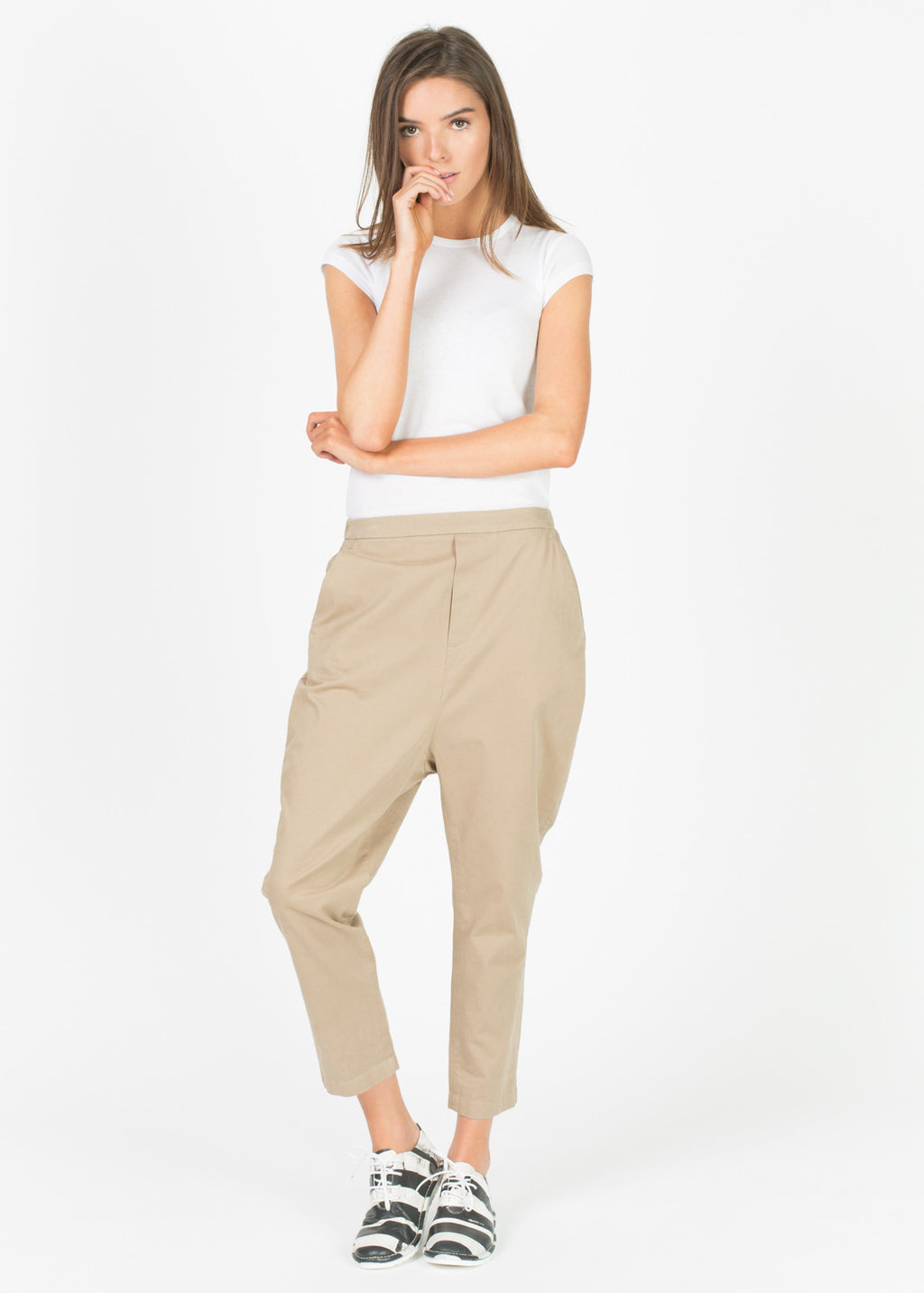 Zargana Drop Crotch Pant
