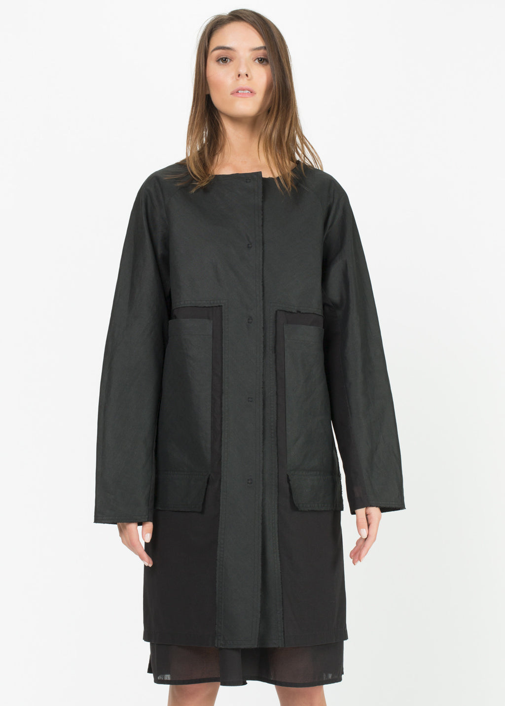Elma Sheer Coat