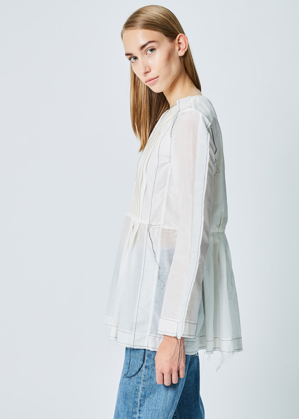 Winglet Pleat Top