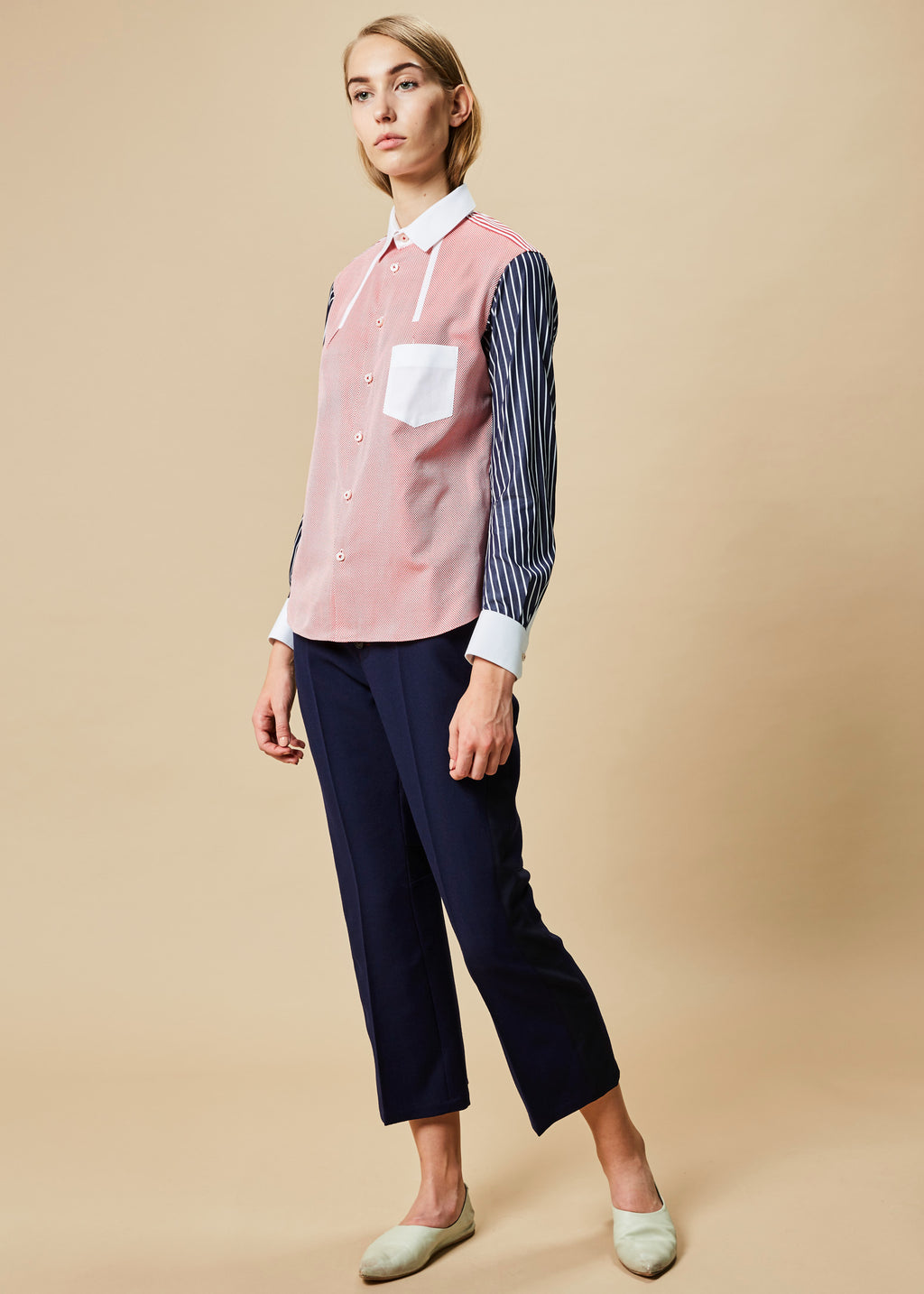 Banner Button-Up Shirt