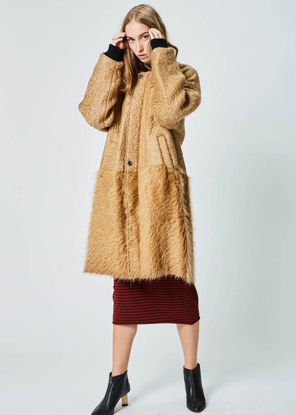 Combed Zane Coat