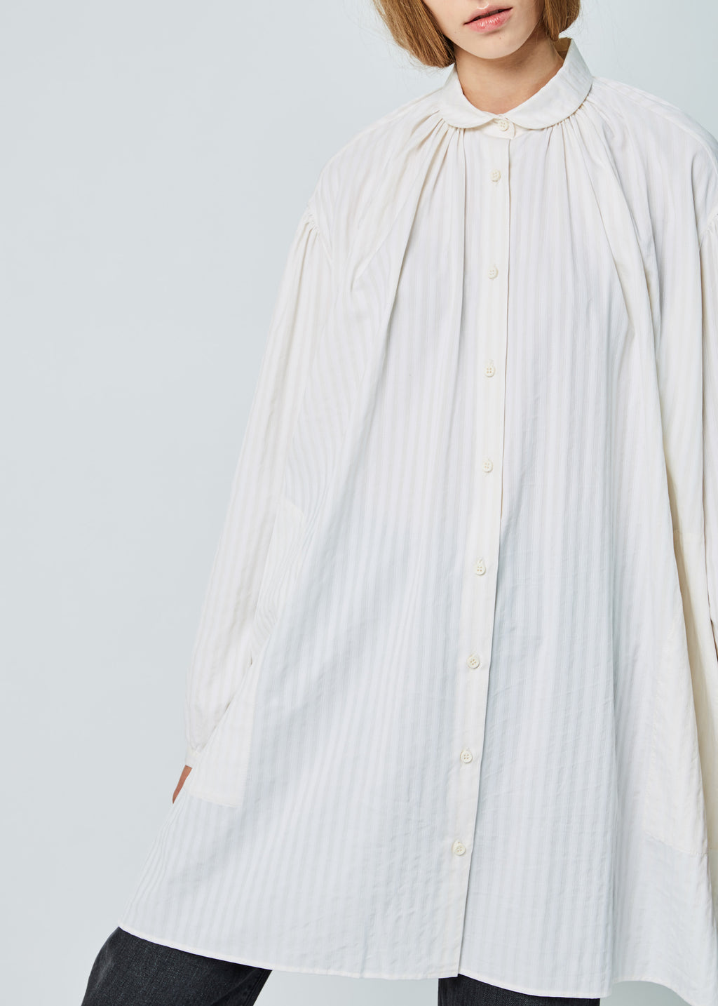 Tomasa Oversize Button-Up Shirt