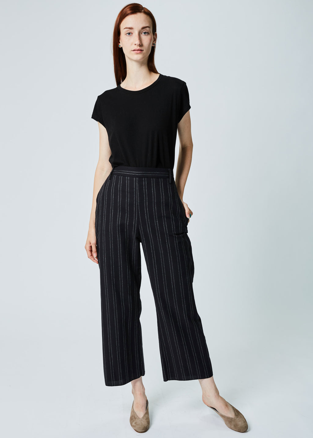 Straight Leg Pull-Up Pant