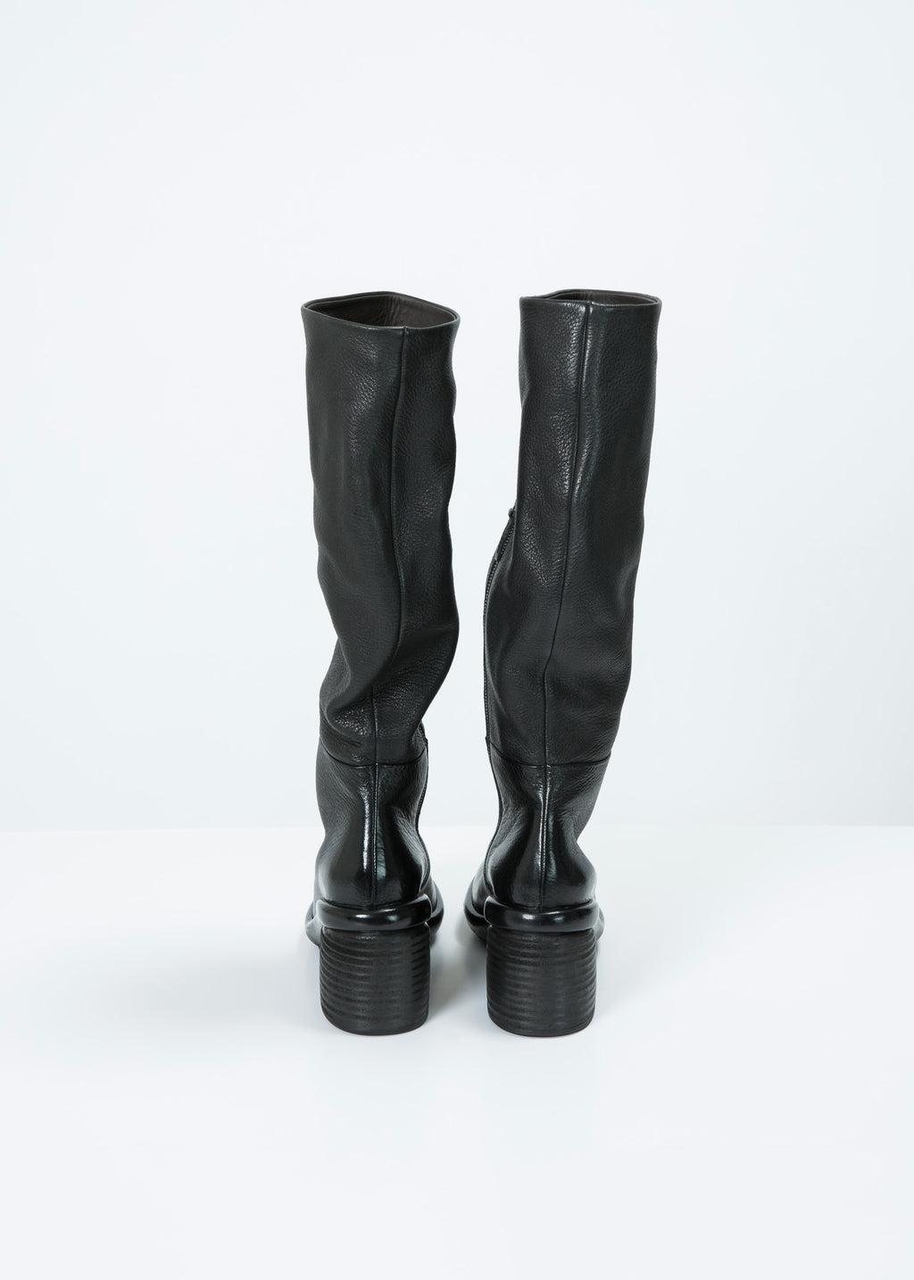 Salvagente Stacked-Heel Tall Boot