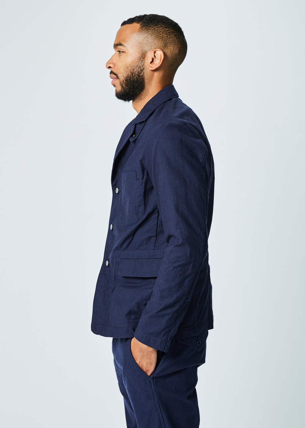 Riveted Utility Blazer