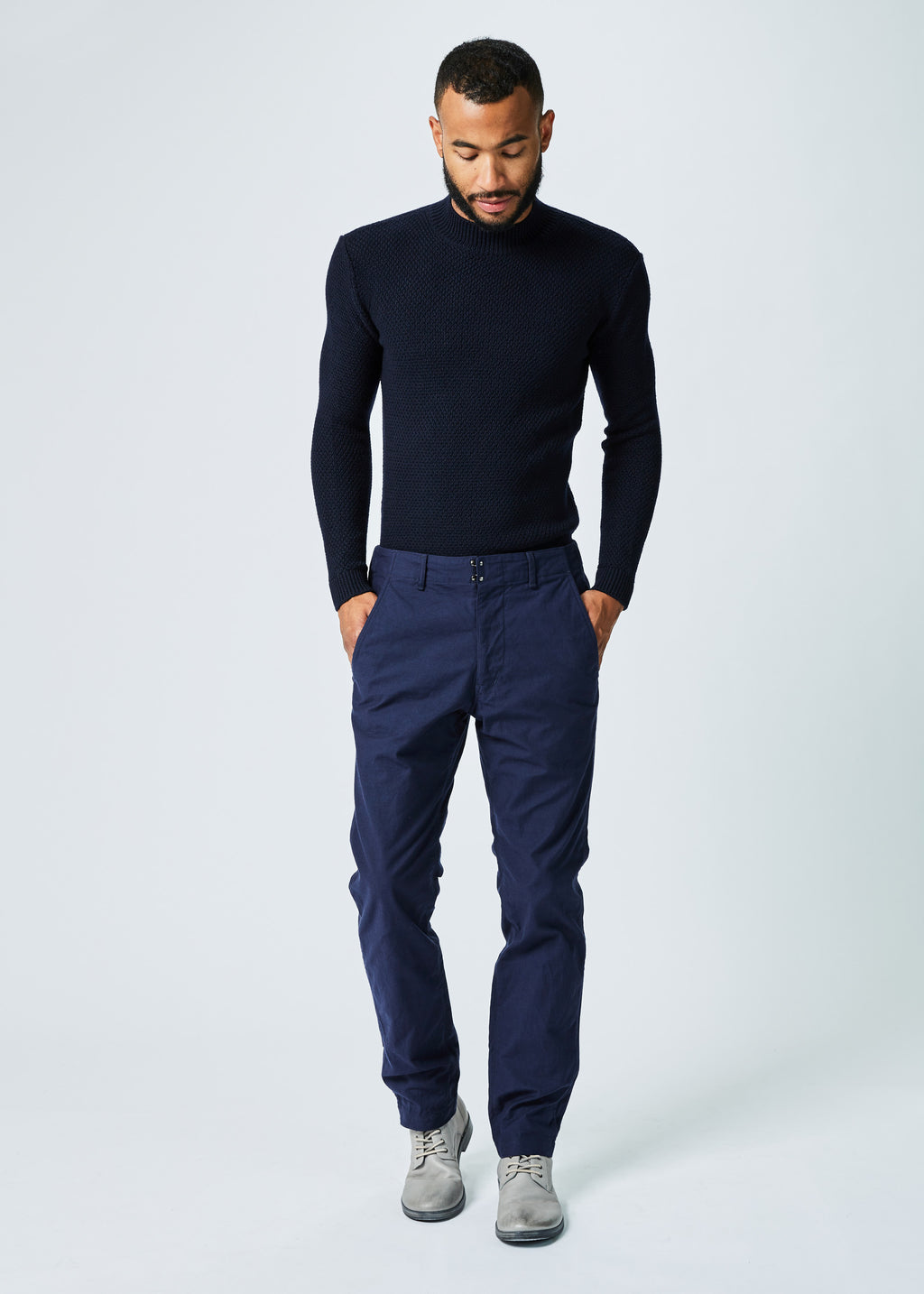 Winter Weight Tapered Trouser