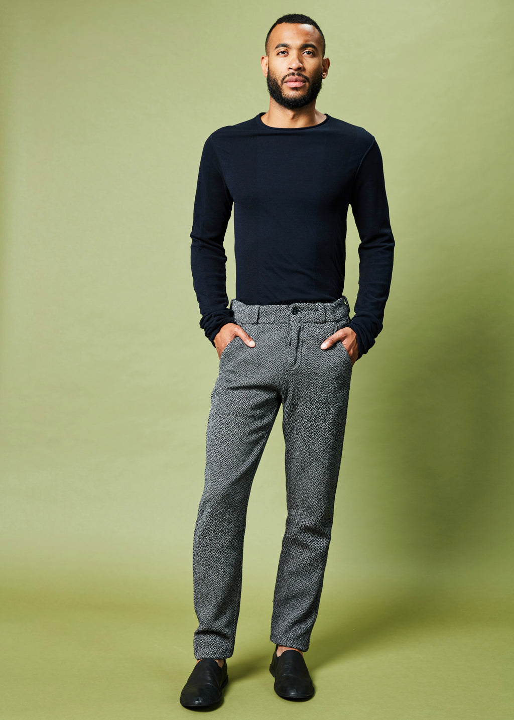 Track Textured Dress Pant