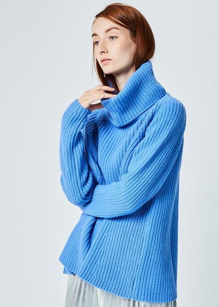 A-Line Turtleneck Sweater